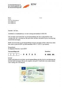 brief tenaamstellingscode 211x300 Wat heb ik nodig om mijn auto te verkopen