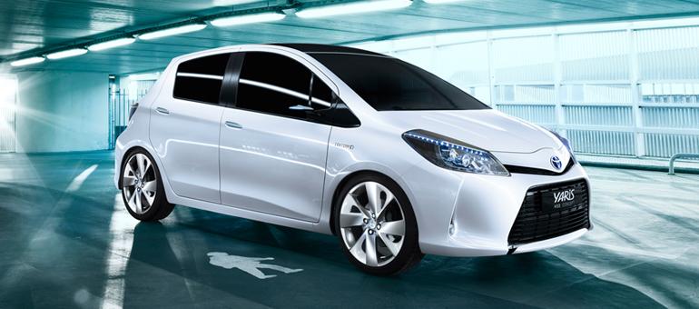 toyota yaris hsd concept 2011 exterior tme 001 prev tcm304 1041388 Een facelift voor de Toyota Yaris